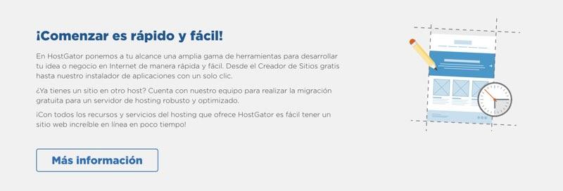 Creador sitios web hostgator