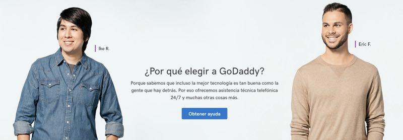 Por qué elegir Godaddy