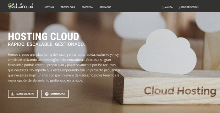 VPS Cloud de Sitegroun