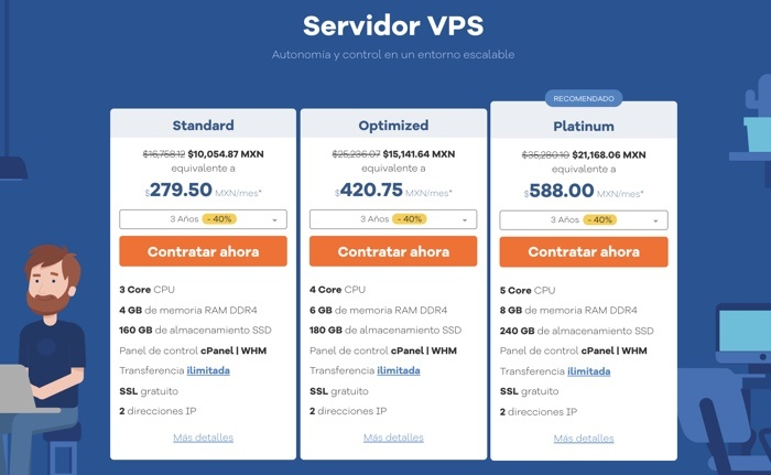 Servidor virtual de Hostgator