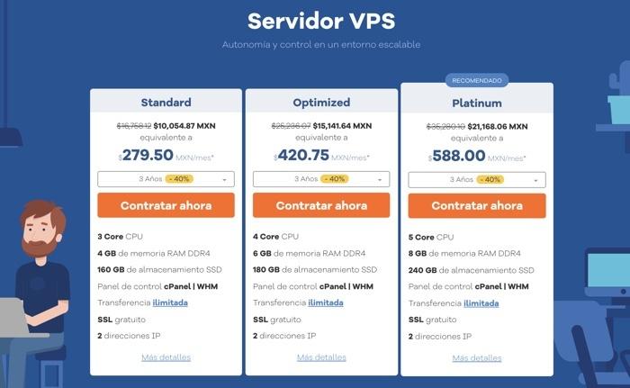 Servidor virtual de Hostgator