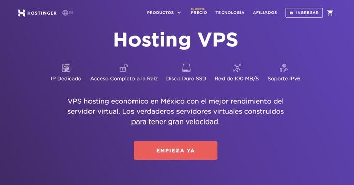 VPS barato en México