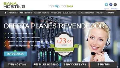Alojamiento Banahosting para WordPress